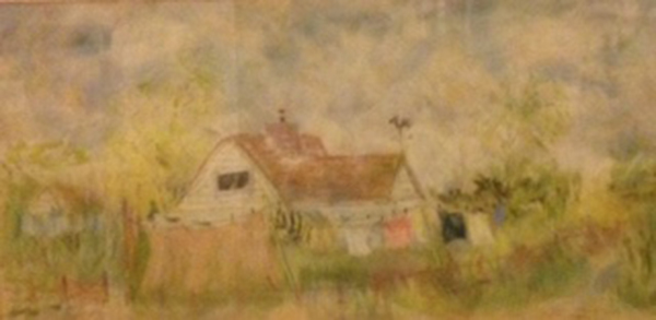 country-cottage-pastel-on-paper