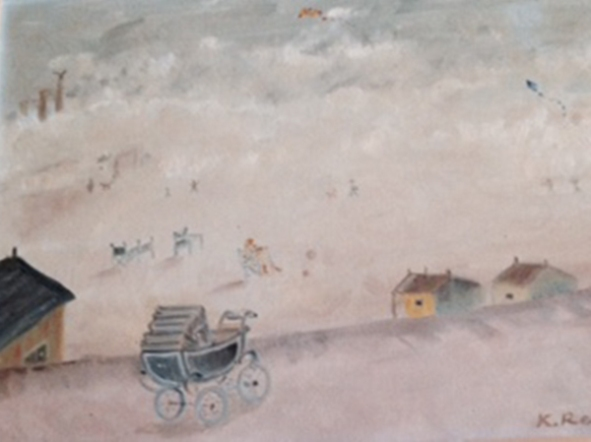 the-pram-oil-on-canvas